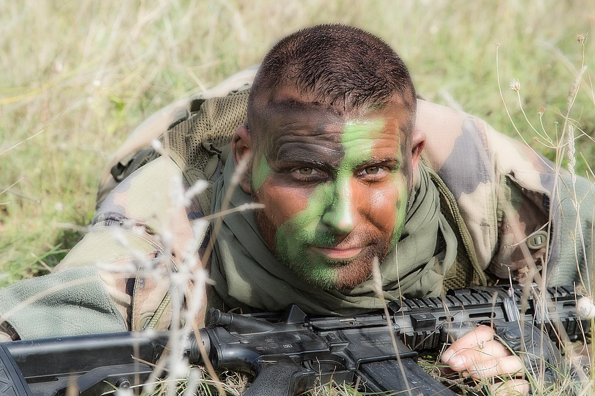 devenir soldat